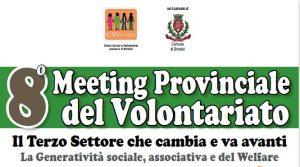 TUTTO PRONTO PER L'OTTAVA EDIZIONE DEL MEETING PROVINCIALE DEL VOLONTARIATO