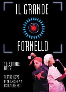 """TEATRO KOPO' PRESENTA """"IL GRANDE FORNELLO"""", LO SPACCATO DELL'ERA """"REALITY"""""""