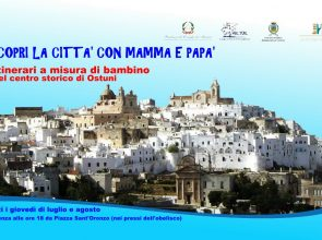 TOUR KIDS OSTUNI: ITINERARI SU MISURA PER I PICCOLI