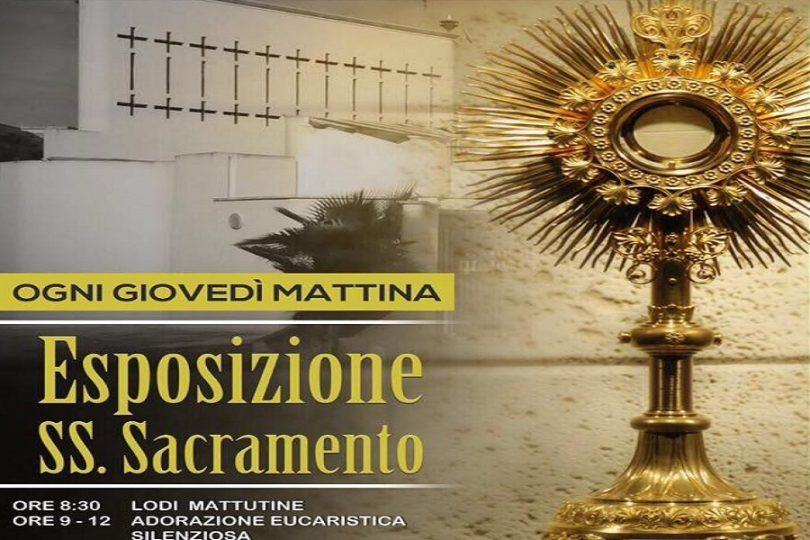 adorazione eucaristica da