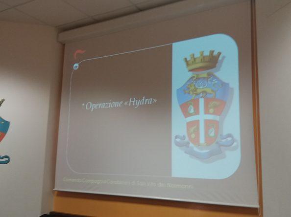 """OPERAZIONE """"HYDRA"""": ECCO TUTTI I DESTINATARI DELLE MISURE CAUTELARI E I REATI CONTESTATI – FOTO"""