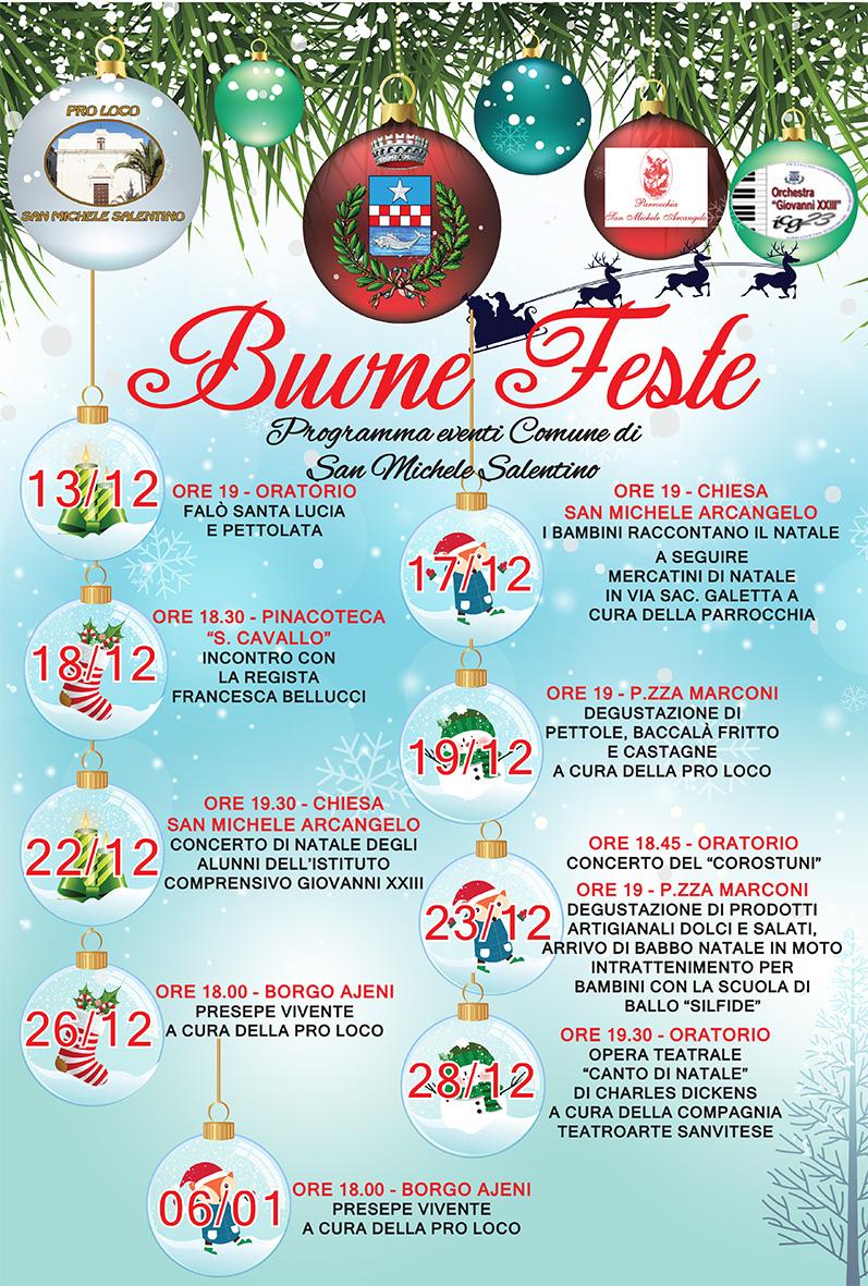 Eventi Natale.Al Via Gli Eventi Natalizi A San Michele Salentino