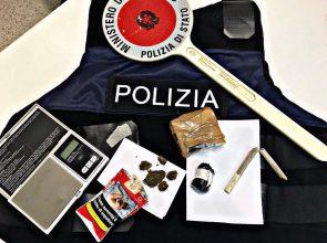 DROGA: ANCORA UN ARRESTO DELLA POLIZIA DI STATO BRINDISINA