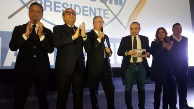 POLITICHE – ENTUSIASMO ALLE STELLE NELLA CONVENTION DI FORZA ITALIA A BRINDISI