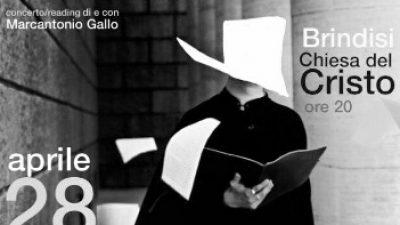 """ULTIMO E IMPERDIBILE APPUNTAMENTO DELLA RASSEGNA TEATRALE """"VOCI, LUCI & OMBRE"""", A CURA DEL TEATRO DELLE PIETRE DI MARCANTONIO GALLO E FABRIZIO CITO"""