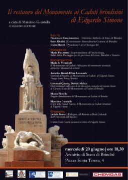 locandina-PRESENTAZIONE-DEL-VOLUME-IL-RESTAURO-DEL-MONUMENTO-AI-CADUTI-BRINDISINI-DI-EDGARDO-SIMONE-.jpg