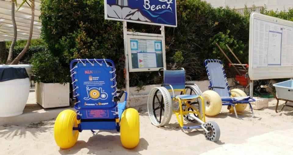 Sedie job per disabili: la regione ne assegna a ostuni