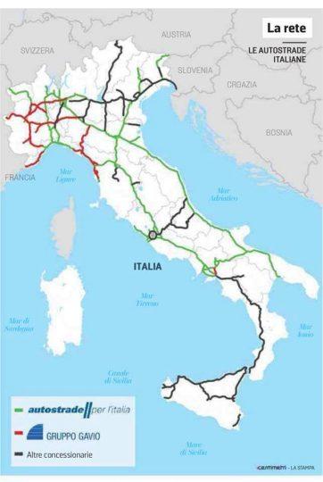 Italia Cartina Autostradale.Pagliaro Fi L Italia Non Finisce A Bari Ma Per La Rete Autostradale Si Brindisitime It Network News Da Brindisi E Provincia