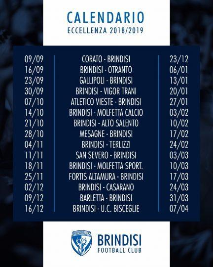 Como Calcio Calendario.Calcio Ssd Brindisi Fc Ecco Il Calendario Del Prossimo