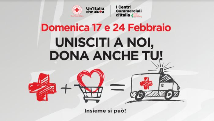 0d9bd63587 BRINDISI: LA CROCE ROSSA ITALIANA NEI CENTRI COMMERCIALI ...
