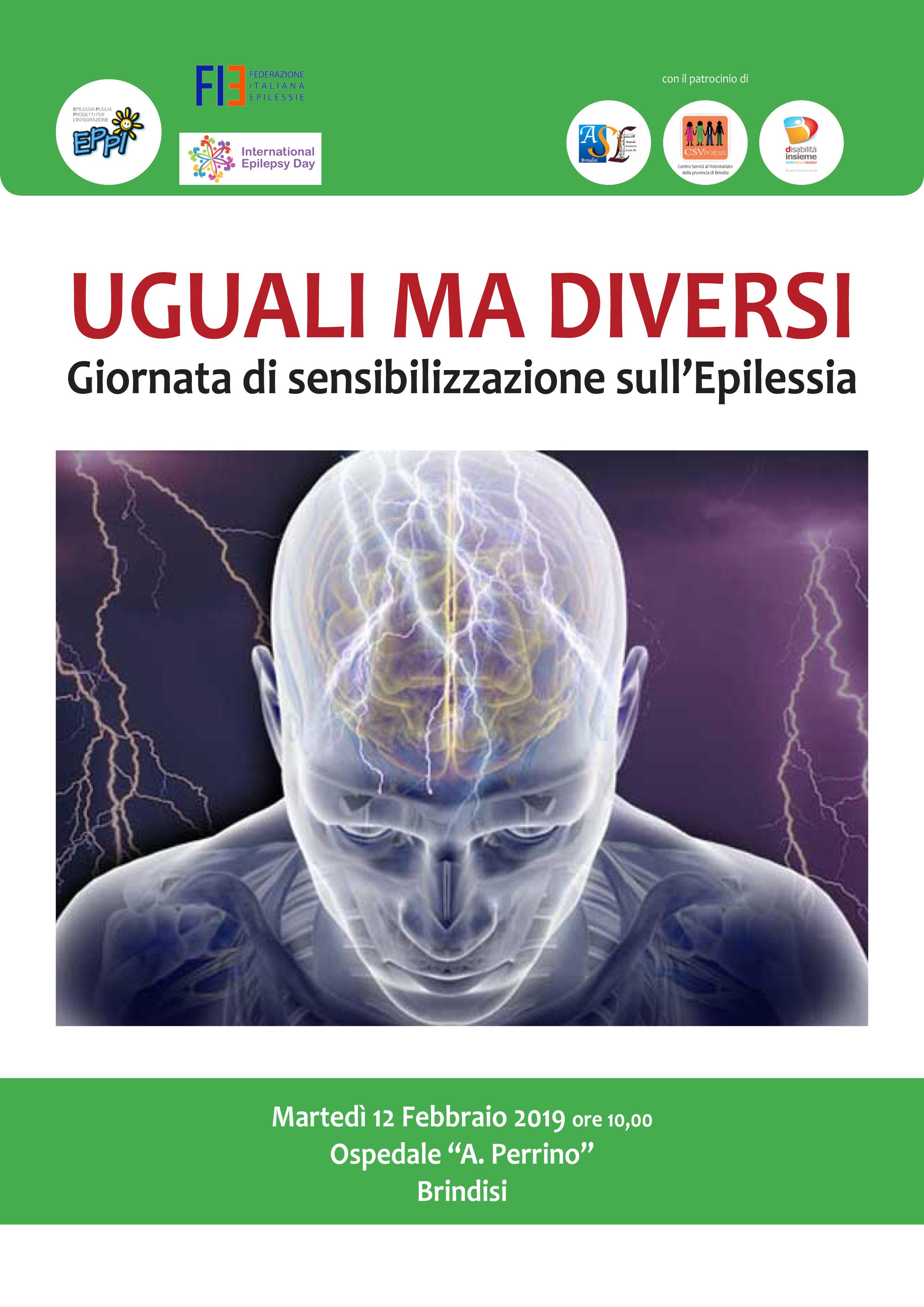 Uguali ma diversi martedi nel perrino uno sportello per l epilessia - Diversi ma uguali ...