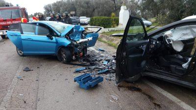 SALE A 3 MORTI IL BILANCIO DELL'INCIDENTE STRADALE SULLA SAN PIETRO-CAMPO DI MARE