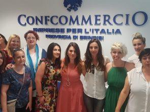 """CONFCOMMERCIO – COSTITUITO IL GRUPPO """"TERZIARIO DONNA"""" DELLA PROVINCIA DI BRINDISI"""