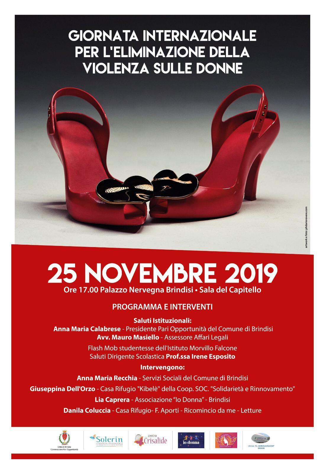 giornata contro la violenza sulle donne incontro a palazzo nervegna brindisitime it network news da brindisi e provincia brindisitime it