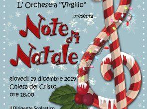 """GIOVEDI' 19 LE NOTE DI NATALE DELL'ORCHESTRA """"VIRGILIO"""""""