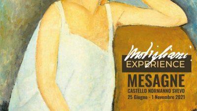 """PRESENTAZIONE DEL PROGETTO """"PUGLIA WALKING ART"""" CON LA MOSTRA """"MODIGLIANI EXPERIENCE"""""""