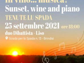 IN VINO…MUSICA! SUNSET, WINE AND PIANO
